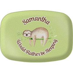 Sloth Melamine Platter (Personalized)
