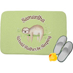 Sloth Memory Foam Bath Mat (Personalized)