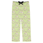 Sloth Mens Pajama Pants (Personalized)