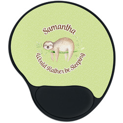 Sloth Mouse Pad with Wrist Support