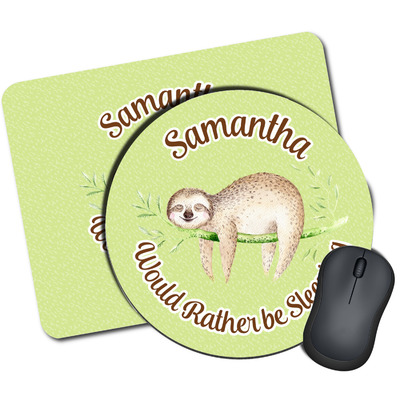 Sloth Mouse Pads (Personalized)