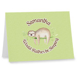 Sloth Note cards (Personalized)