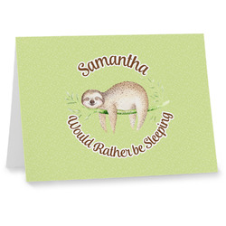 Sloth Notecards (Personalized)