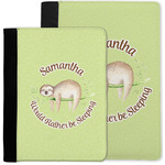 Sloth Notebook Padfolio w/ Name or Text