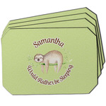 Sloth Dining Table Mat - Octagon w/ Name or Text