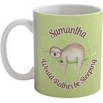 Sloth Coffee Mug (Personalized)