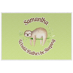 Sloth Placemat (Laminated) (Personalized)