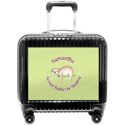 Sloth Pilot / Flight Suitcase (Personalized)