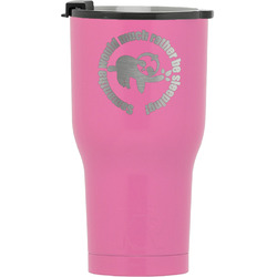 Sloth RTIC Tumbler - Pink (Personalized)