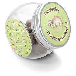 Sloth Puppy Treat Jar (Personalized)