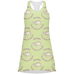 Sloth Racerback Dress (Personalized)