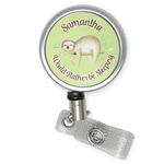 Sloth Retractable Badge Reel (Personalized)