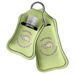 Sloth Hand Sanitizer & Keychain Holder (Personalized)