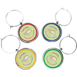 Sloth Wine Charms (Set of 4) (Personalized)