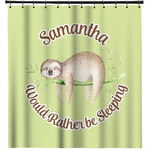 Sloth Shower Curtain (Personalized)