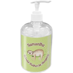 Sloth Soap / Lotion Dispenser (Personalized)