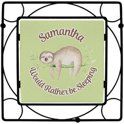 Sloth Square Trivet (Personalized)