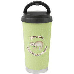 Sloth Stainless Steel Travel Mug (Personalized)