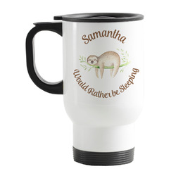 Sloth Stainless Steel Travel Mug with Handle