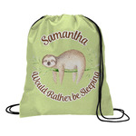 Sloth Drawstring Backpack (Personalized)