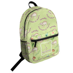 Sloth Student Backpack (Personalized)