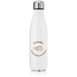 Sloth Tapered Water Bottle - 17 oz. - Stainless Steel (Personalized)