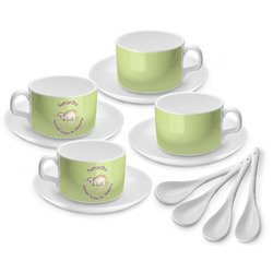 Sloth Tea Cup - Set of 4 (Personalized)