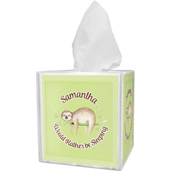 Sloth Tissue Box Cover (Personalized)