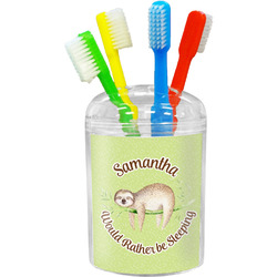 Sloth Toothbrush Holder (Personalized)