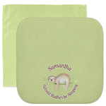 Sloth Facecloth / Wash Cloth (Personalized)
