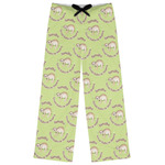 Sloth Womens Pajama Pants (Personalized)