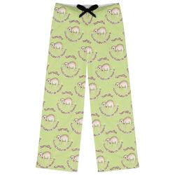 Sloth Womens Pajama Pants (Personalized)