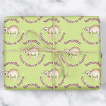 Sloth Wrapping Paper (Personalized)