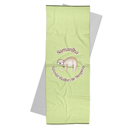 Sloth Yoga Mat Towel (Personalized)