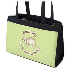 Sloth Zippered Everyday Tote (Personalized)