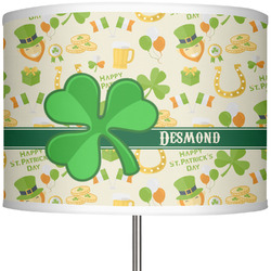 "St. Patrick's Day 13"" Drum Lamp Shade (Personalized)"