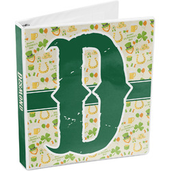St. Patrick's Day 3-Ring Binder (Personalized)