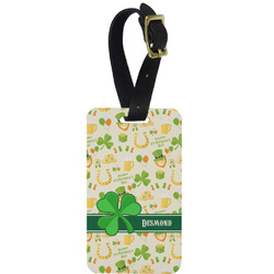 St. Patrick's Day Aluminum Luggage Tag (Personalized)