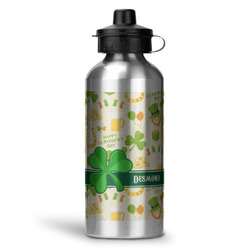 St. Patrick's Day Water Bottle - Aluminum - 20 oz (Personalized)