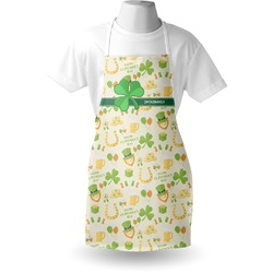 St. Patrick's Day Apron (Personalized)