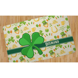 St. Patrick's Day Area Rug (Personalized)