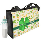 St. Patrick's Day Diaper Bag w/ Name or Text