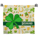 St. Patrick's Day Bath Towel (Personalized)