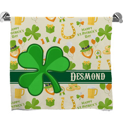 St. Patrick's Day Bath Towel (Personalized)