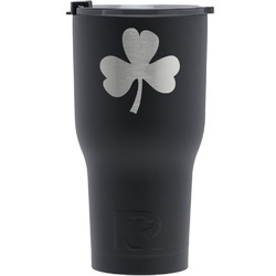 St. Patrick's Day RTIC Tumbler - Black (Personalized)