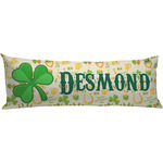 St. Patrick's Day Body Pillow Case (Personalized)