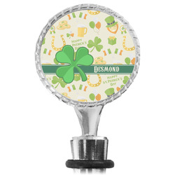St. Patrick's Day Wine Bottle Stopper (Personalized)