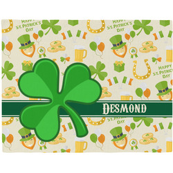 St. Patrick's Day Placemat (Fabric) (Personalized)