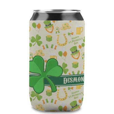 St. Patrick's Day Can Sleeve (12 oz) (Personalized)