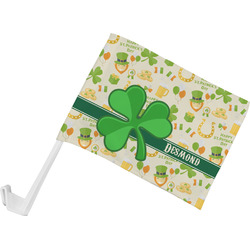 St. Patrick's Day Car Flag (Personalized)